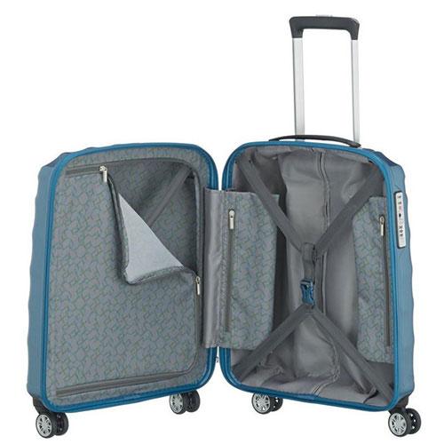 Маленький чемодан 40x55x20см Titan Shooting Star синий