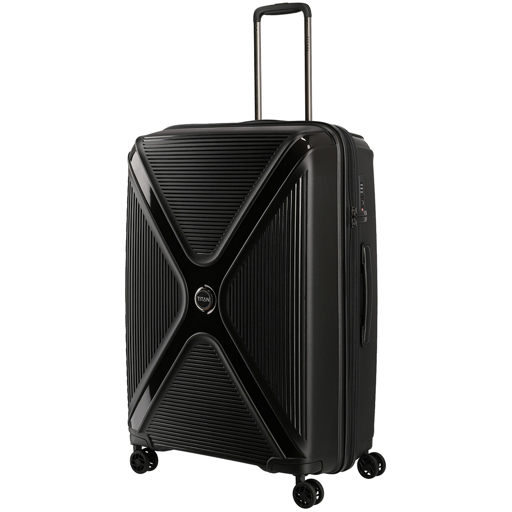Большой чемодан 51x71x31см Titan Paradoxx с замком блокировки TSA
