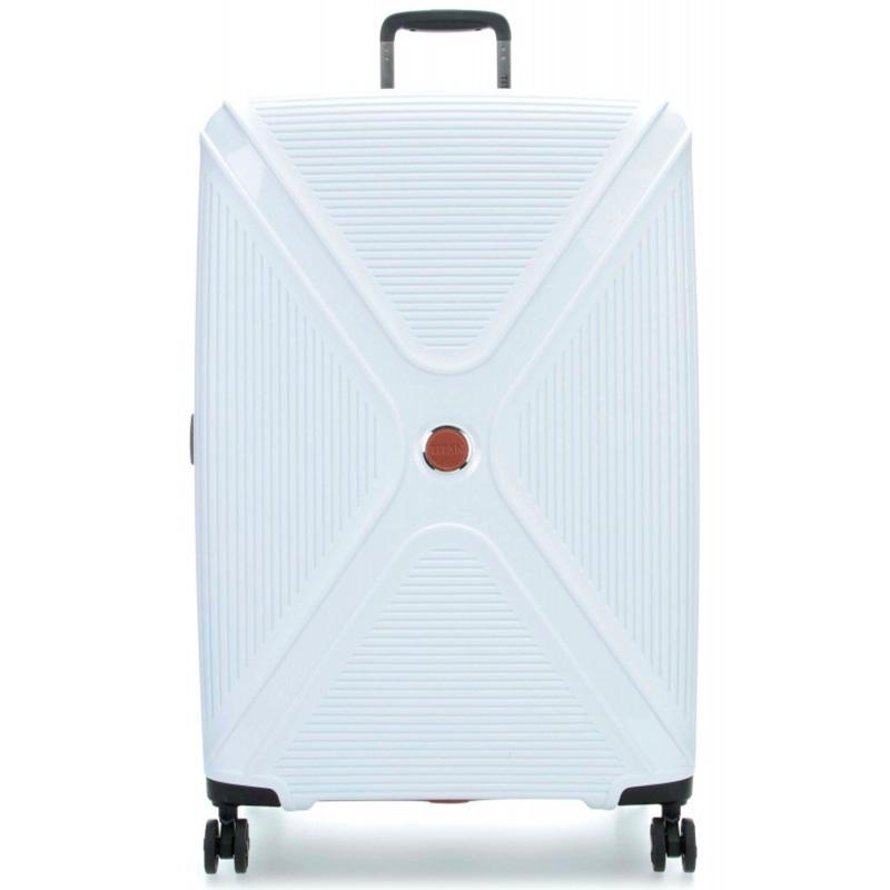 Чемодан белого цвета 51x71x31см Titan Paradoxx с тележкой