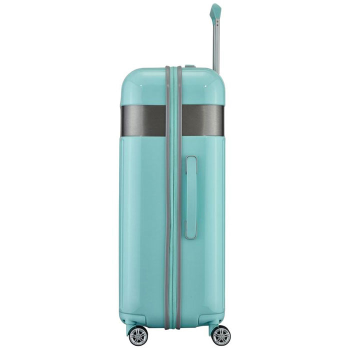 Большой чемодан 52x76x30см Titan Spotlight Flash мятного цвета