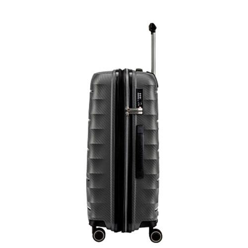 Средний чемодан Titan Highlight серый