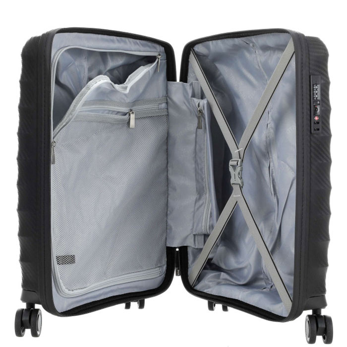 Маленький чемодан 40x55x20см Titan Highlight черный