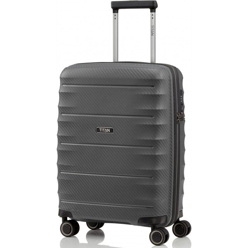 Маленький чемодан Titan Highlight серый