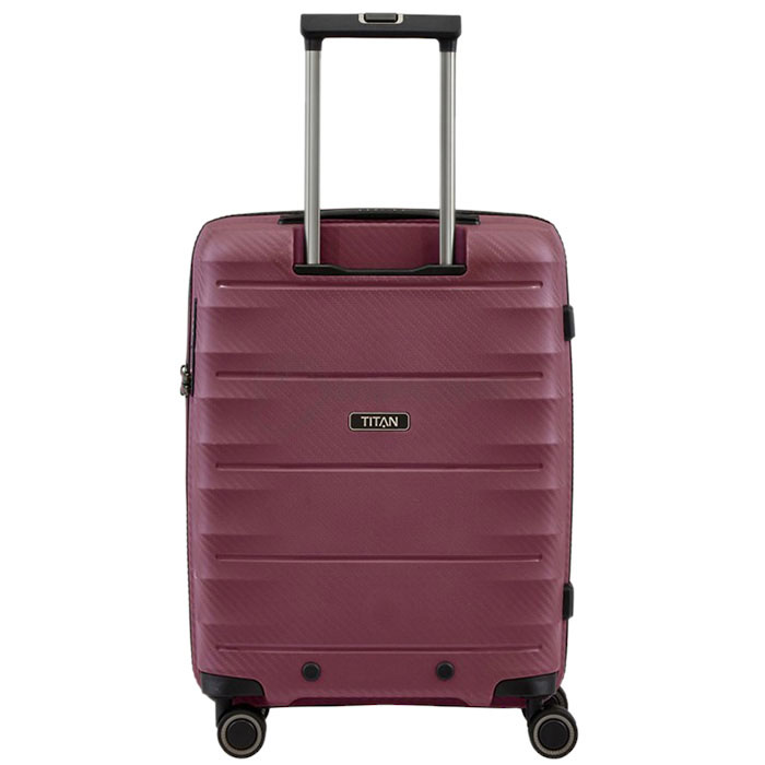 Маленький чемодан 40x55x20см Titan Highlight бордовый