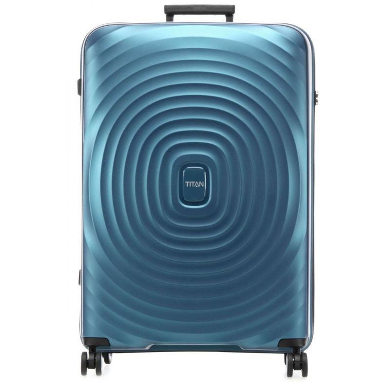 Большой чемодан 51x77x30см Titan Looping синий