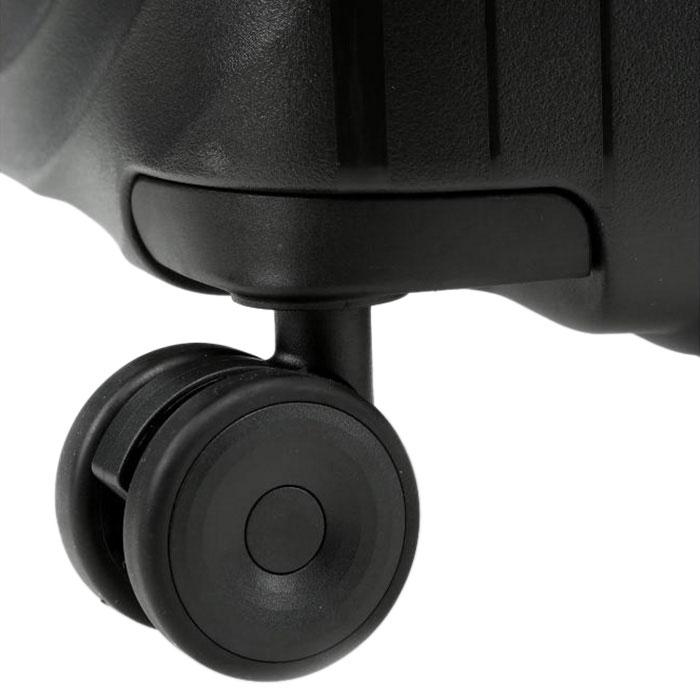 Средний чемодан 45x67x27-31см Titan Looping черный
