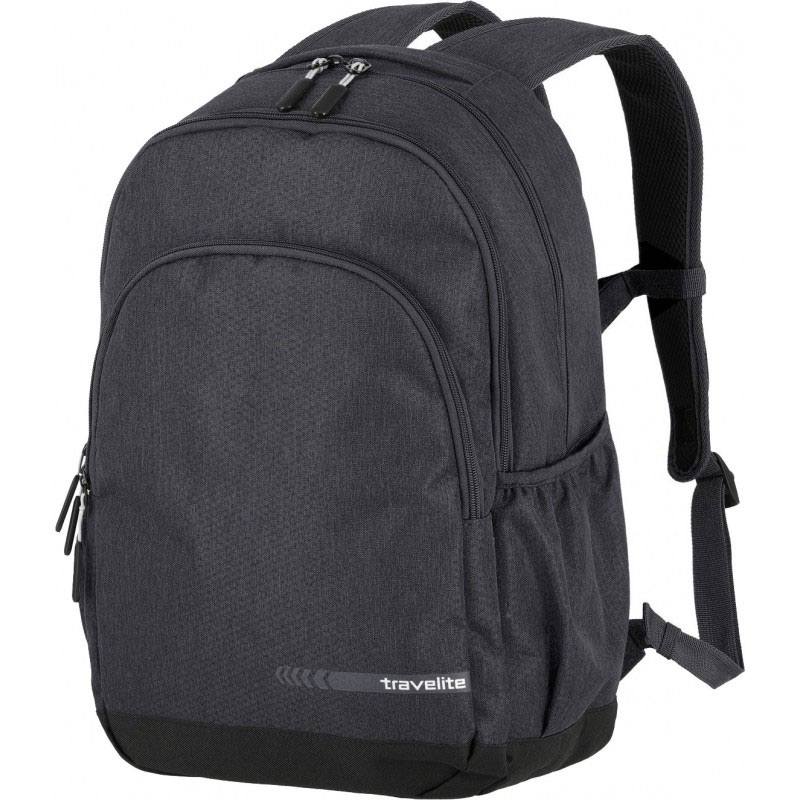 Рюкзак Travelite Kick off 69 округлой формы серого цвета