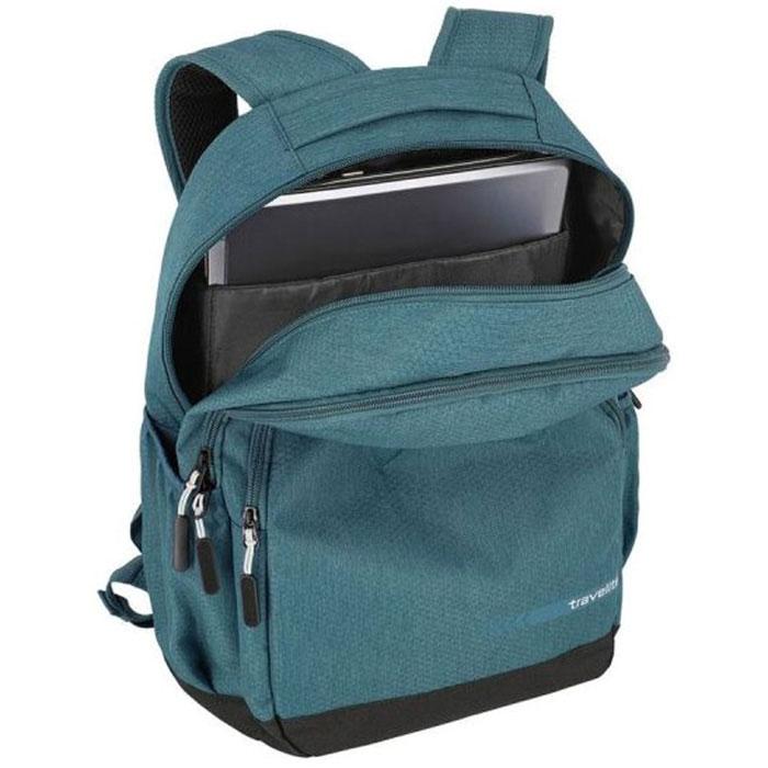 Рюкзак Travelite Kick off 69 округлой формы зеленого цвета