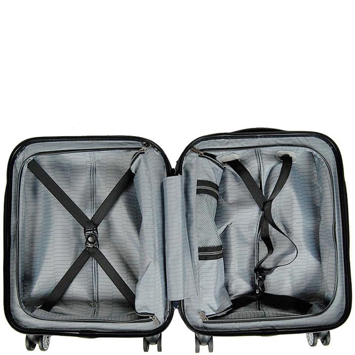 Маленький чемодан 55x40х20см Travelite Elbe Two с выдвижной ручкой