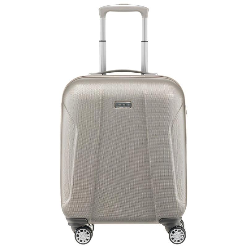 Маленький чемодан 55x40х20см Travelite Elbe Two в песочном цвете