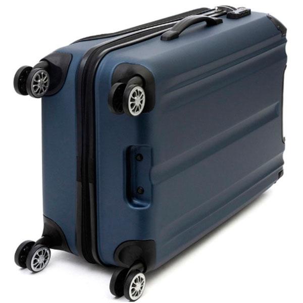 Средний чемодан Travelite City синего цвета 44x68x26см