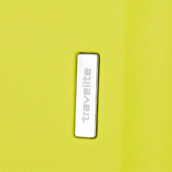 Чемодан на колесах Travelite City желтого цвета 44x68x28см