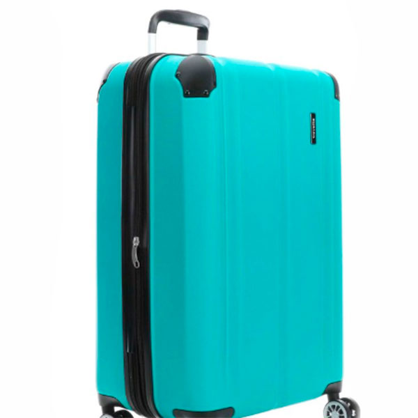 Чемодан голубой Travelite City  49x77x32см на колесах
