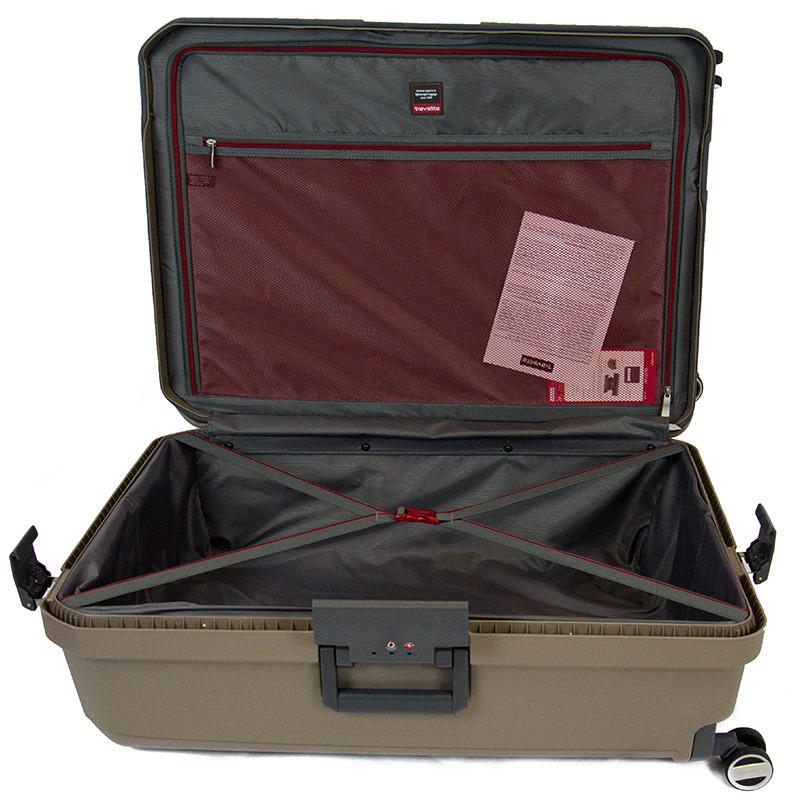 Дорожный чемодан 44x66x27см Travelite Makro с ударопрочным корпусом