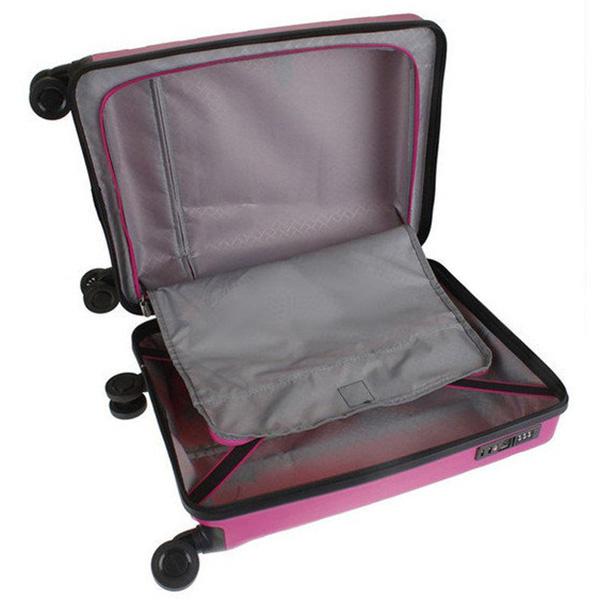 Чемодан среднего размера 45x67x27-31см Travelite Kosmos розового цвета