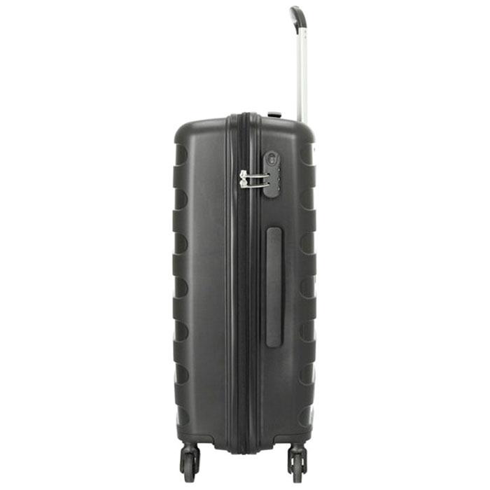 Черный чемодан на колесах Travelite Nova 50x75x30см