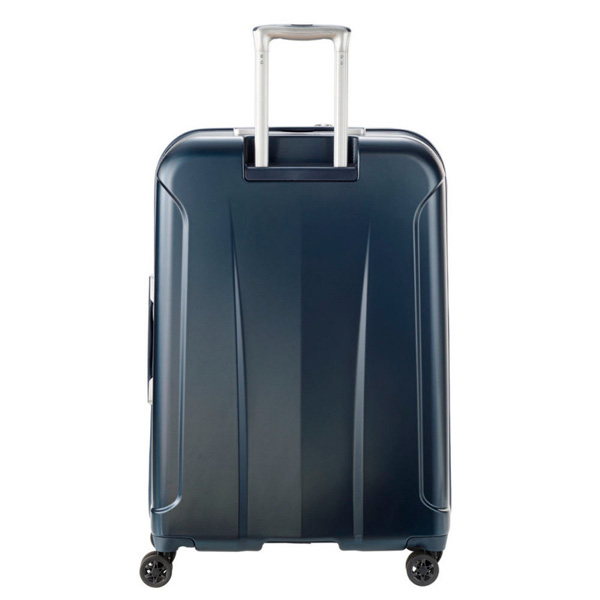 Малый синий чемодан 40x55x20см Travelite Elbe с боковой ручкой