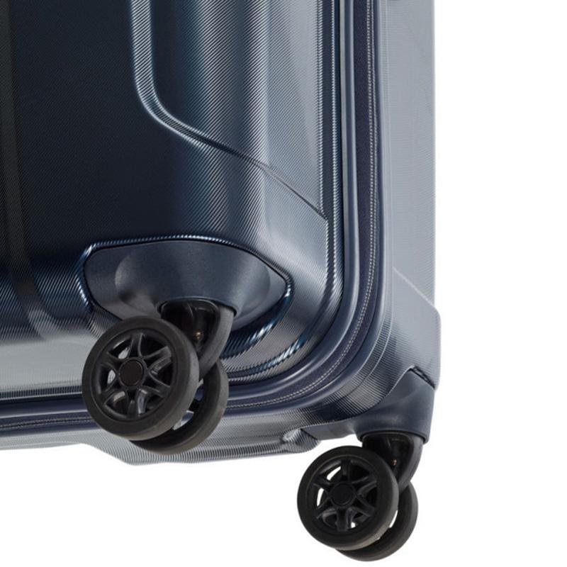 Синий чемодан 51x77x30см Travelite Elbe с кодовым замком