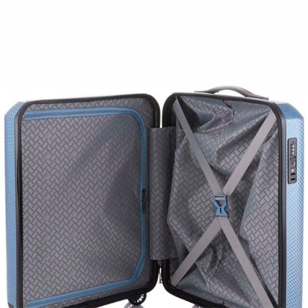 Синий чемодан Travelite Skywalk малый 40x55x20см