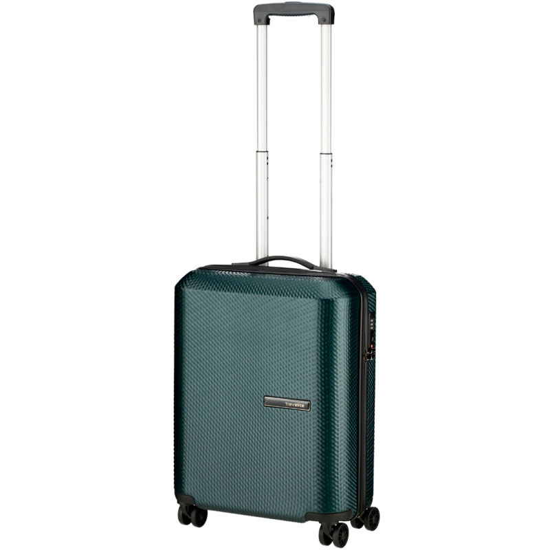 Зеленый чемодан Travelite Skywalk  40x55x20см на колесах
