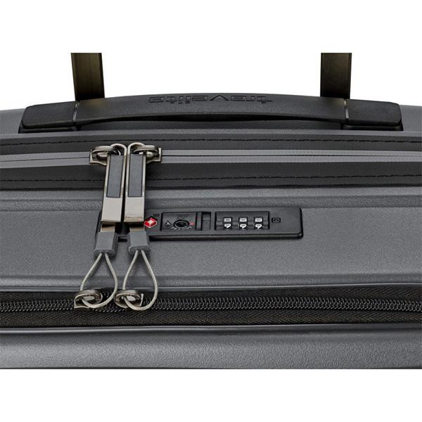 Серый чемодан 39x55x23см Travelite Motion с отделением для ноутбука
