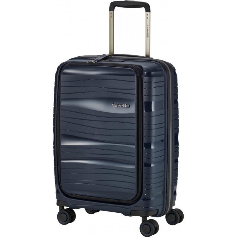 Чемодан синий 39x55x23см Travelite Motion с отделением для ноутбука