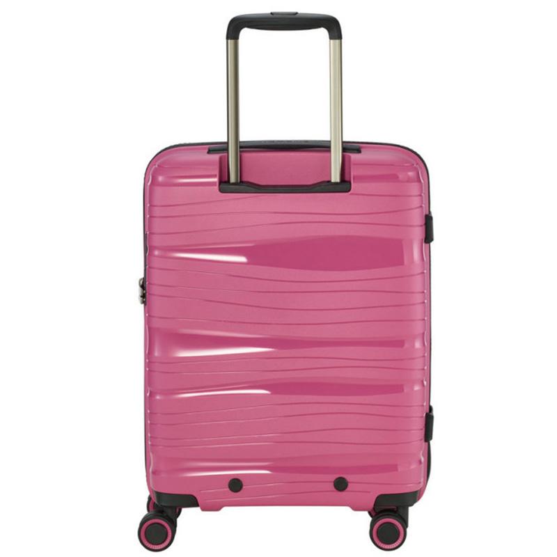 Розовый чемодан 39x55x20см Travelite Motion малого размера