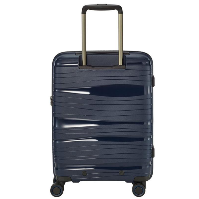 Чемодан на колесах 39x55x20см Travelite Motion синего цвета