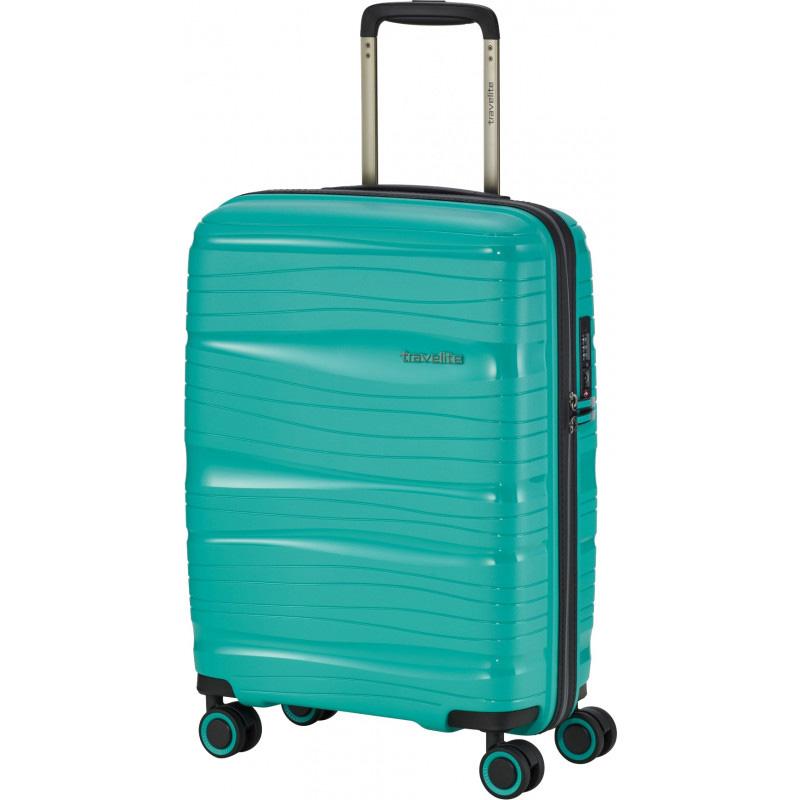 Чемодан на колесах 39x55x20см Travelite Motion бирюзового цвета