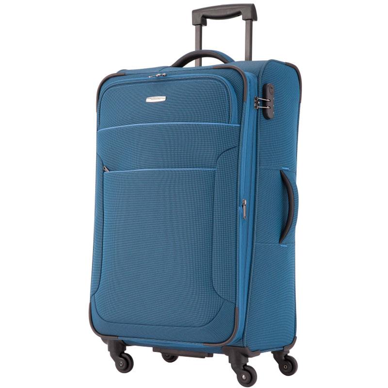 Чемодан синий Travelite Derby 43x77x27/31см