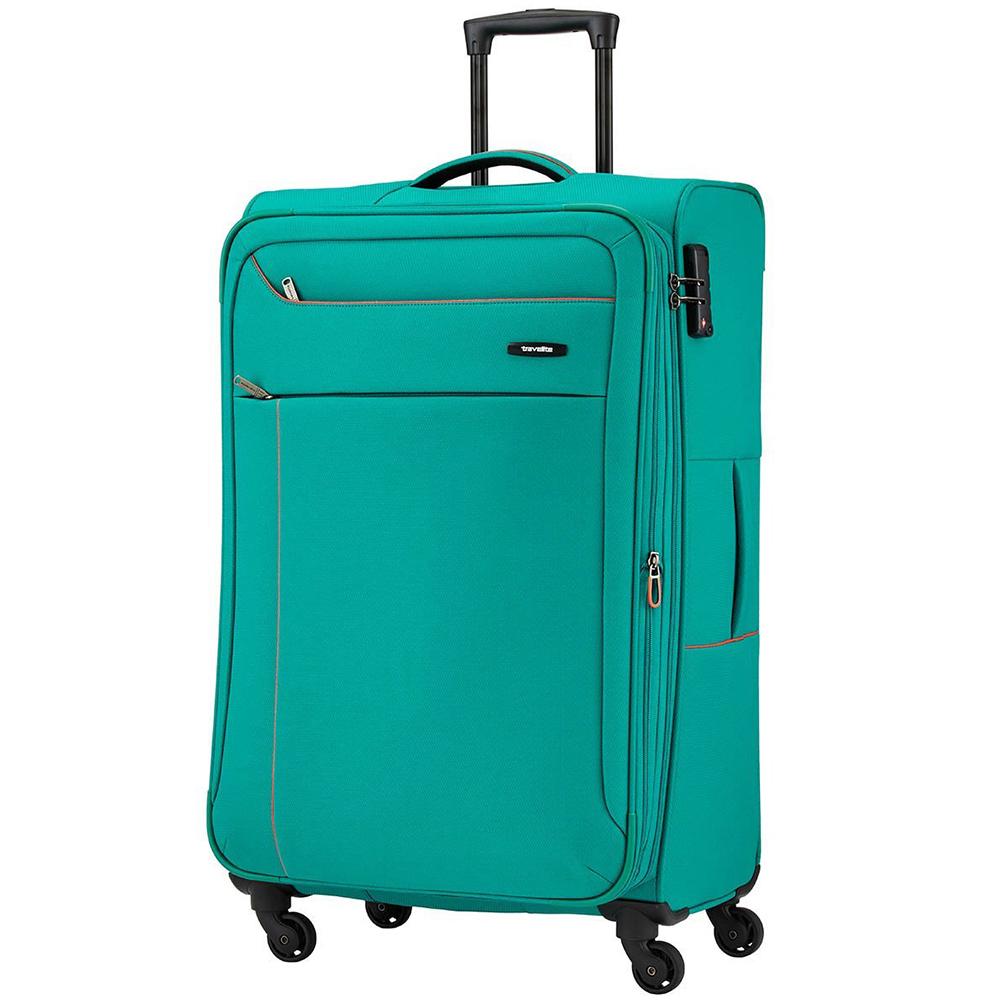 Чемодан среднего размера 77x47х30-34см Travelite Solaris для путешествий