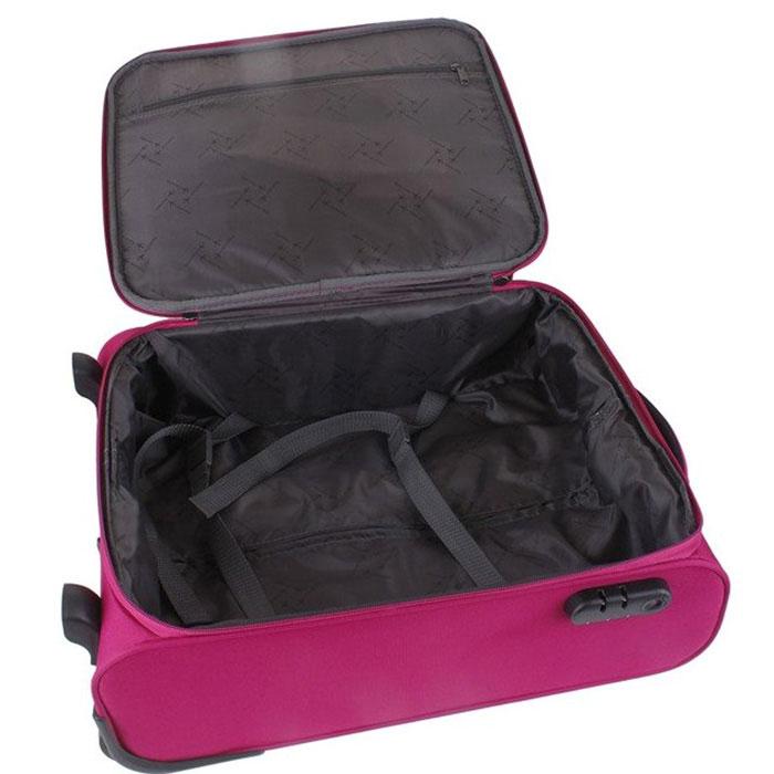 Маленький чемодан 40x55x20см Travelite Cabin цвета фуксии