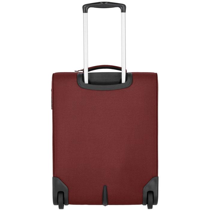 Маленький чемодан 40x55x20см Travelite Cabin бордового цвета