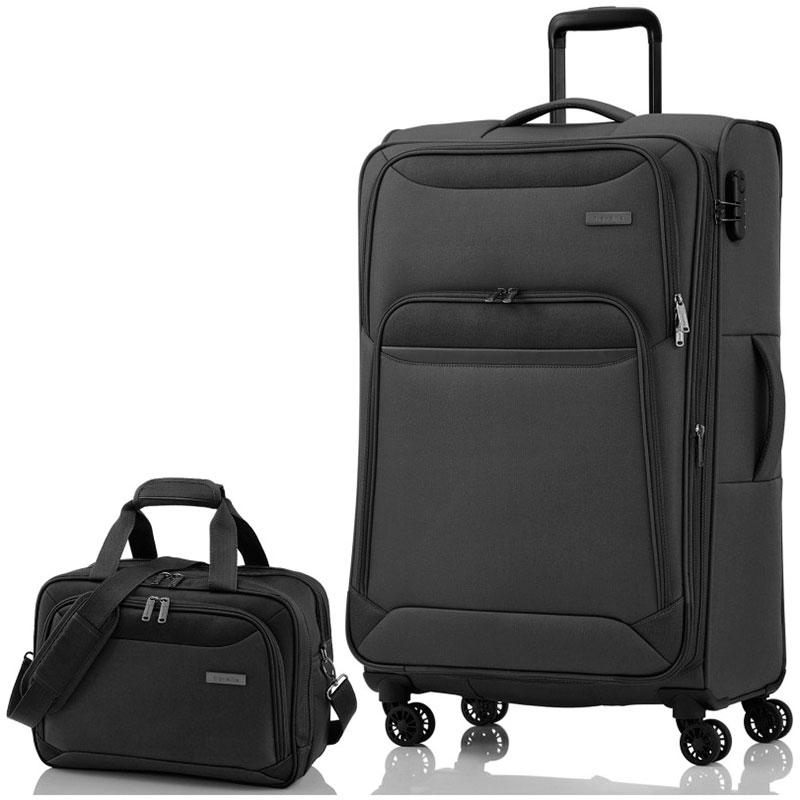 Большой чемодан Travelite Kendo 47x77x30/34см с сумкой