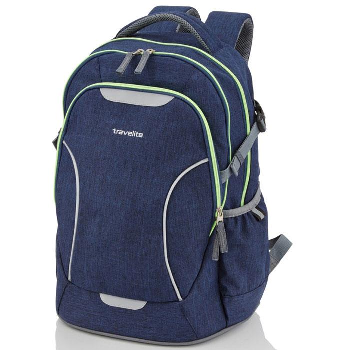 Рюкзак Travelite Basics синего цвета
