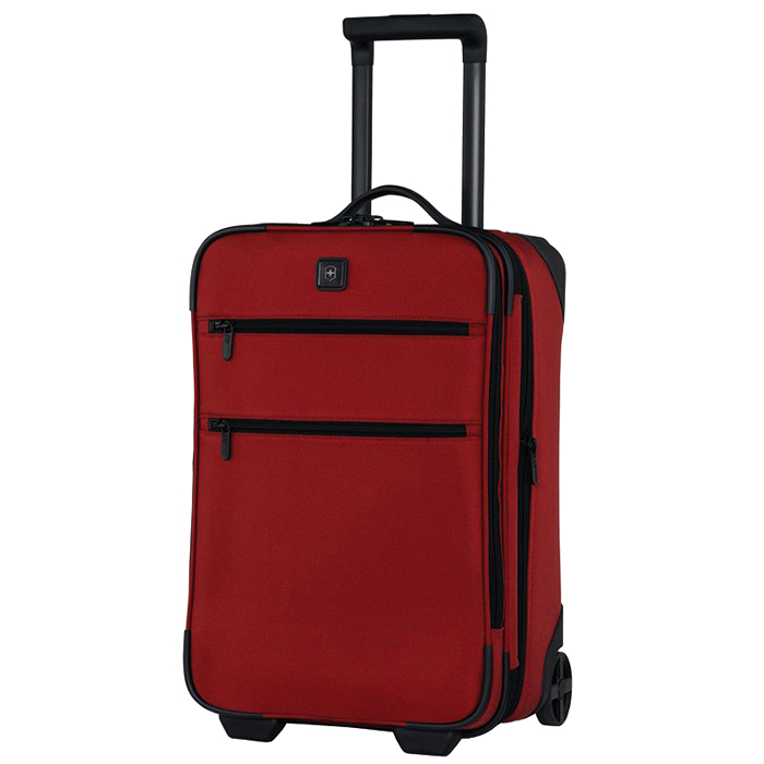 Красный чемодан 51х36х23-29см Victorinox Lexicon 1.0 размера ручной клади