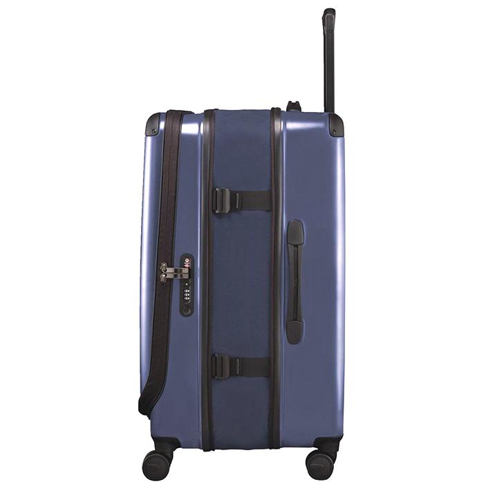 Большой чемодан 78х48х32-43см Victorinox Spectra 2.0 Expandable в синем цвете