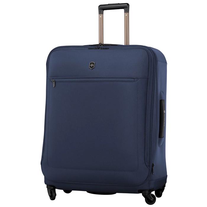 Чемодан большого размера 73х54х31см Victorinox Avolve 3.0 с корпусом синего цвета