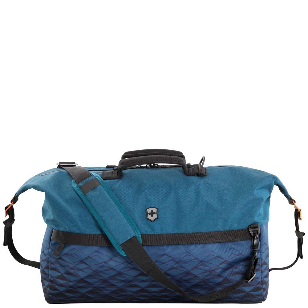 Дорожная сумка Victorinox Vx Touring Dark Teal синего цвета