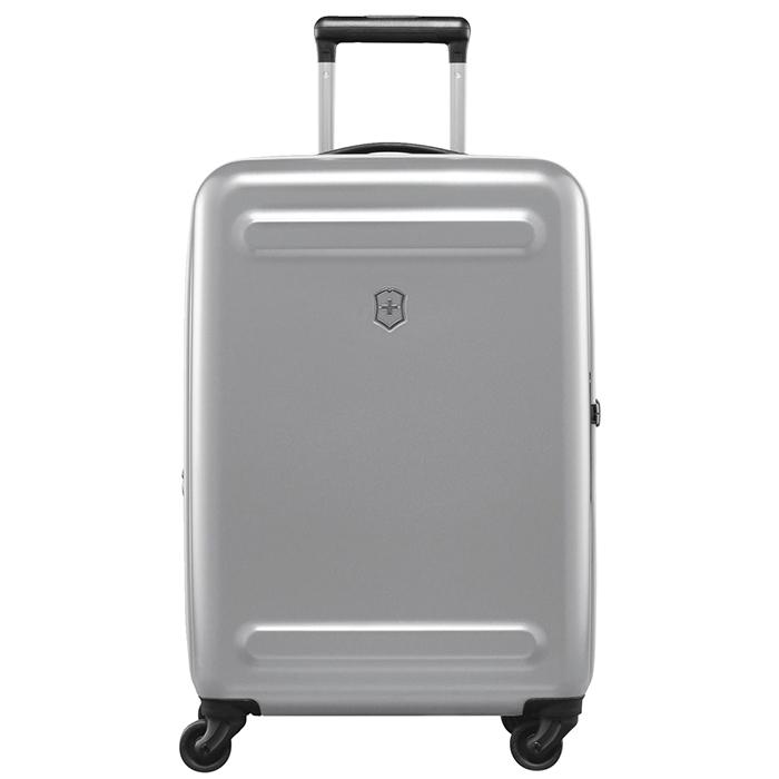 Маленький чемодан 60х40х25-28см Victorinox Etherius серого цвета