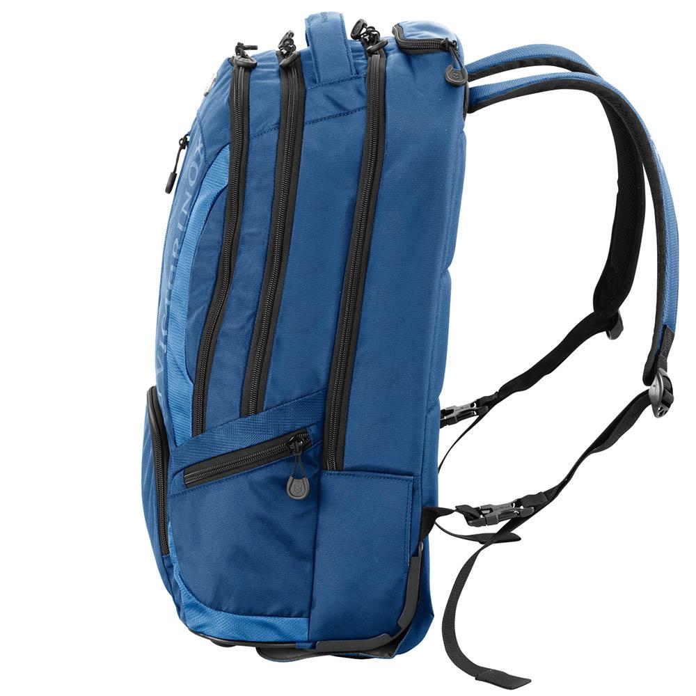 Рюкзак на колесах Victorinox Vx Sport Wheeled Scout синего цвета