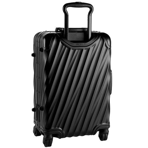 Черный чемодан Tumi 19 Degree Aluminium Carry-On 56х35,5х23см, фото