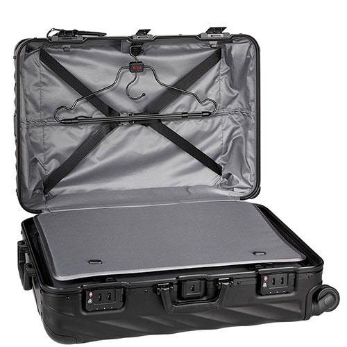 Черный чемодан 66х44,5х25,5см Tumi 19 Degree Aluminium , фото
