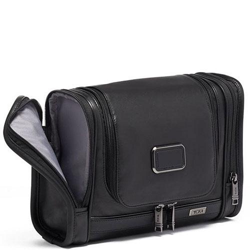 Черный несессер Tumi Alpha 3 Hanging Travel Kit, фото
