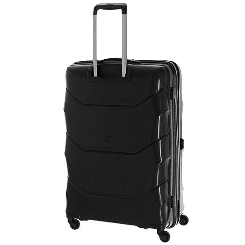 Черный среднего размера чемодан 66x47x26см March Vienna с 4х колесной системой, фото