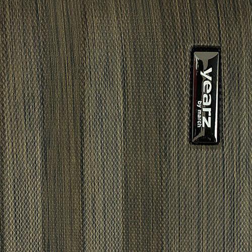 Маленький чемодан бронзового цвета 55х35х20см March Ribbon на молнии, фото
