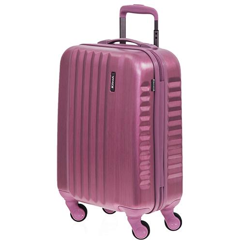 Набор чемоданов March Ribbon с корпусом цвета бургунди, фото