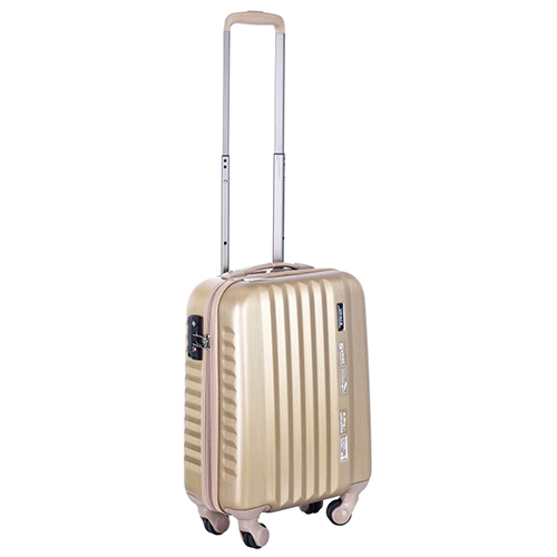 Набор чемоданов March Ribbon с корпусом в золотом цвете, фото