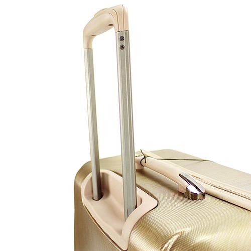 Чемодан среднего размера 65x47x26см March New Carat в золотом цвете для путешествий, фото
