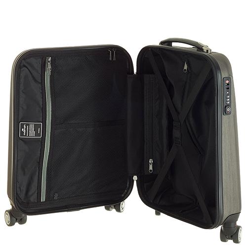 Маленький чемодан 55х35х20см March New Carat бронзового цвета для путешествий, фото